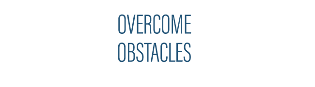 Overcome Obstacles - Header Image