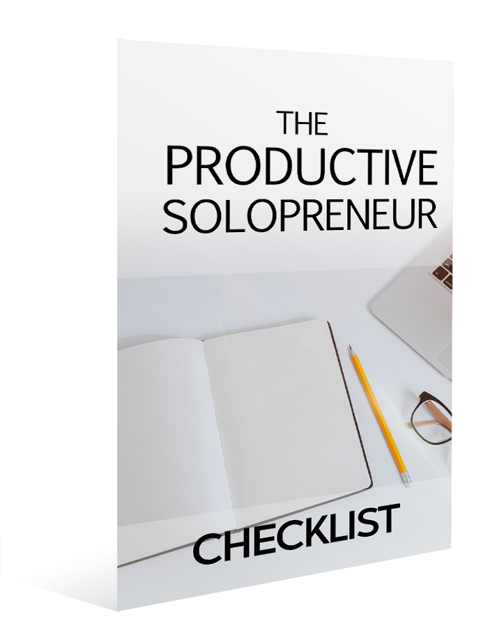 The Productive Solopreneur - Checklist