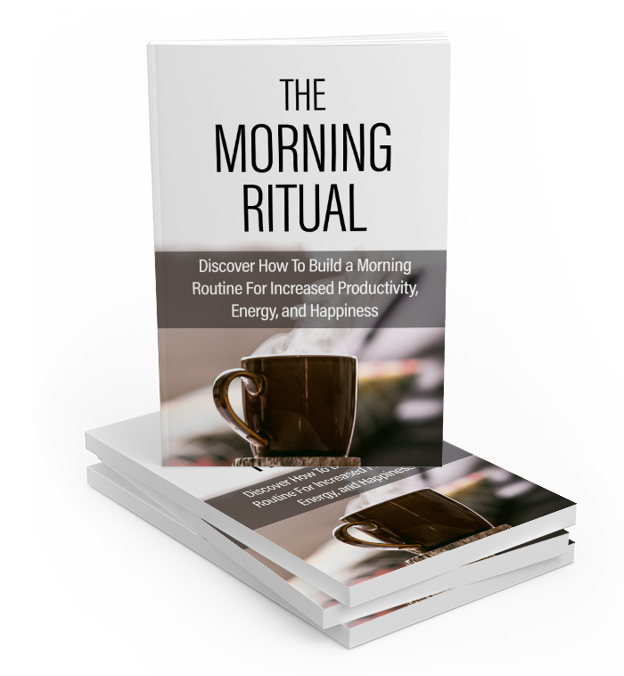 The Morning Ritual -Stacked Book