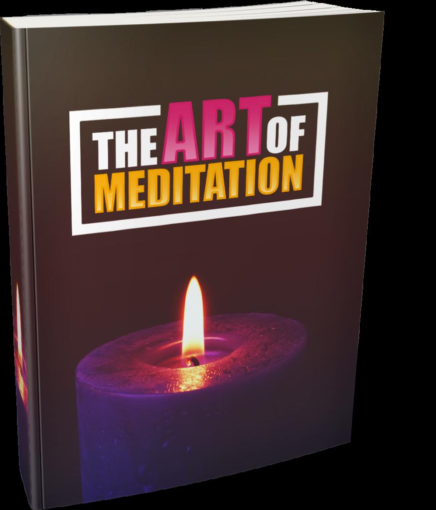 The art of meditation - Ebook Image