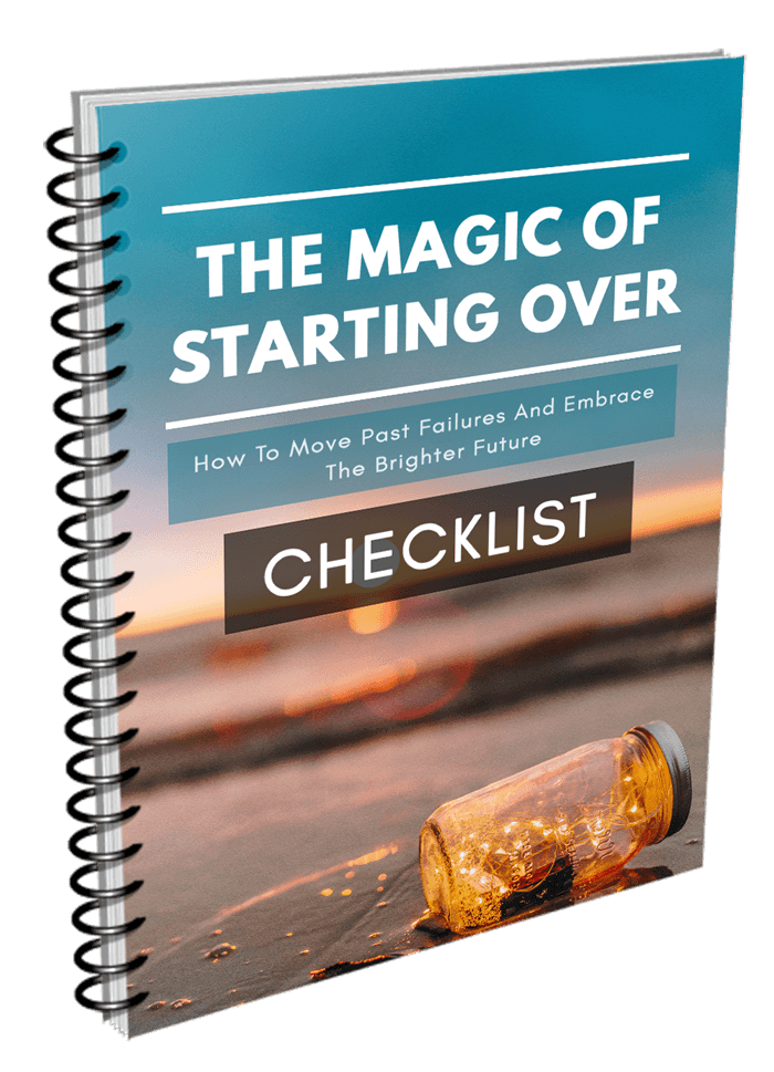 The Magic Of Starting Over CHECKLIST Image