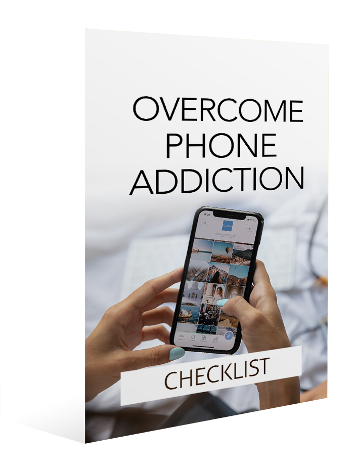 Overcome Phone Addiction - Checklist Image