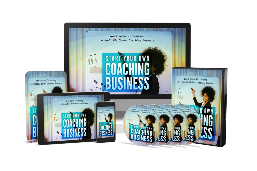 Start Your Own Coaching Business Bundle Image