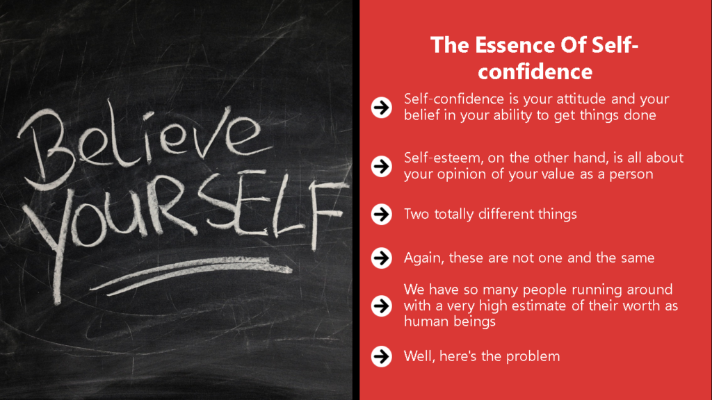 Self Confidence Secrets Video Chapter 1 Image