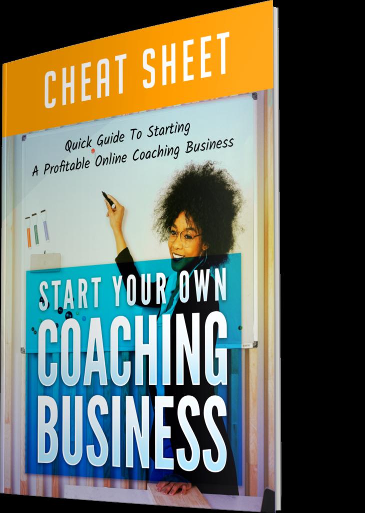 Start Your Own Coaching Business Cheatsheet Image