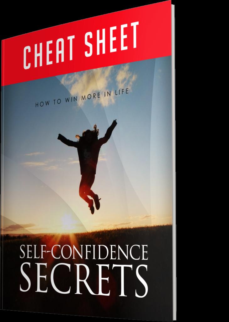 Self Confidence Secrets Cheat sheet Image