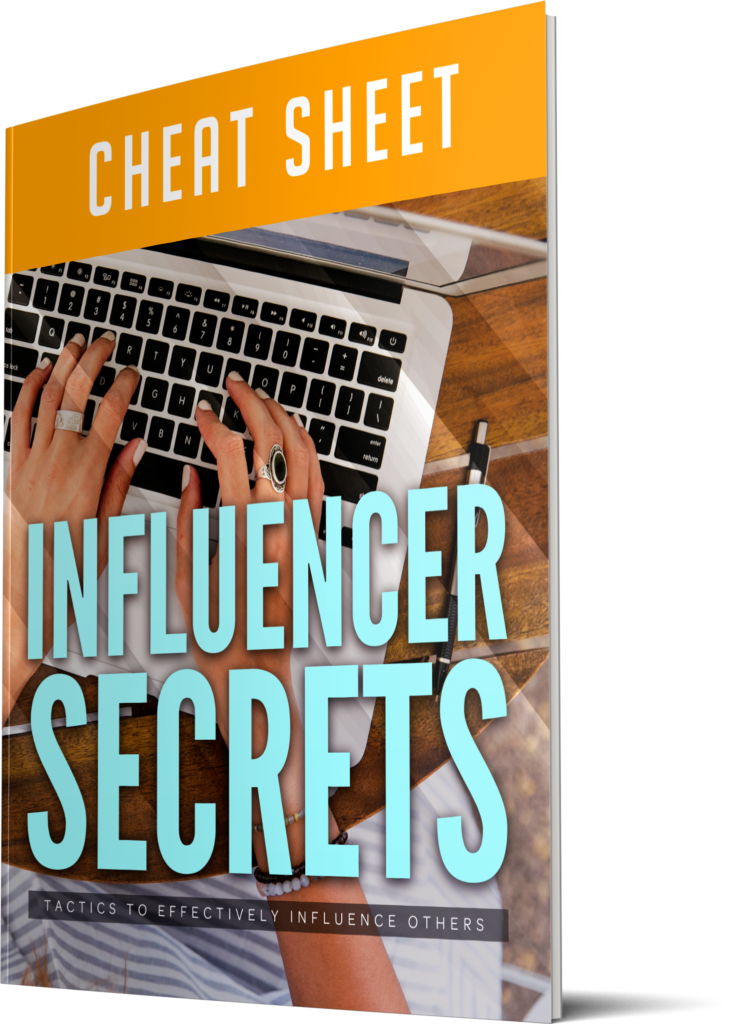 Influencer Secrets Cheatsheet Image
