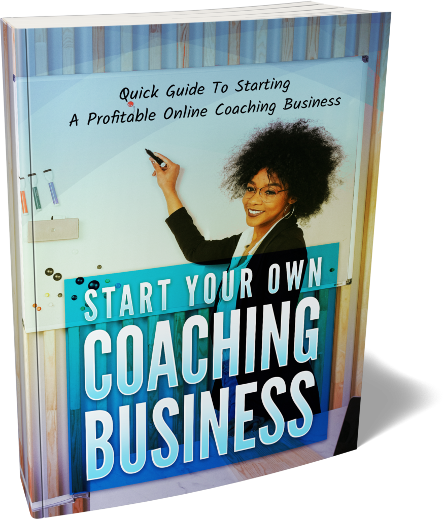 Start Your Own Coaching Business Ebook Image