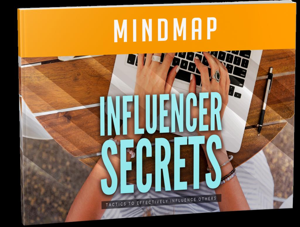 Influencer Secrets Mind Map Image