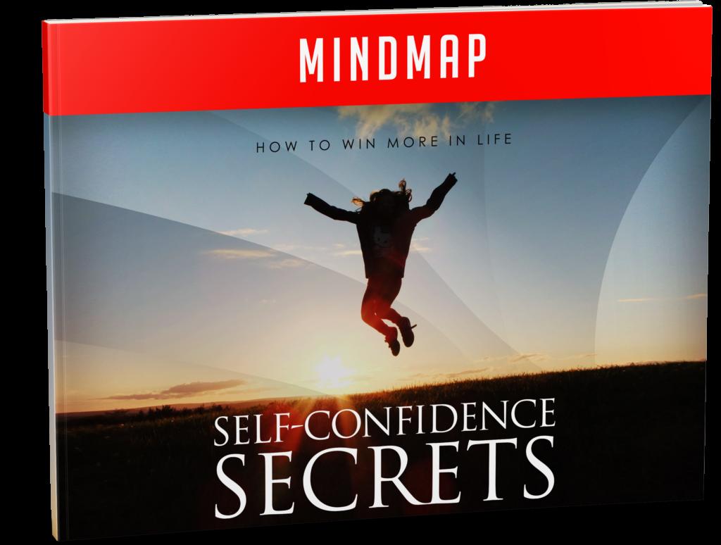 Self Confidence Secrets Mind map Image