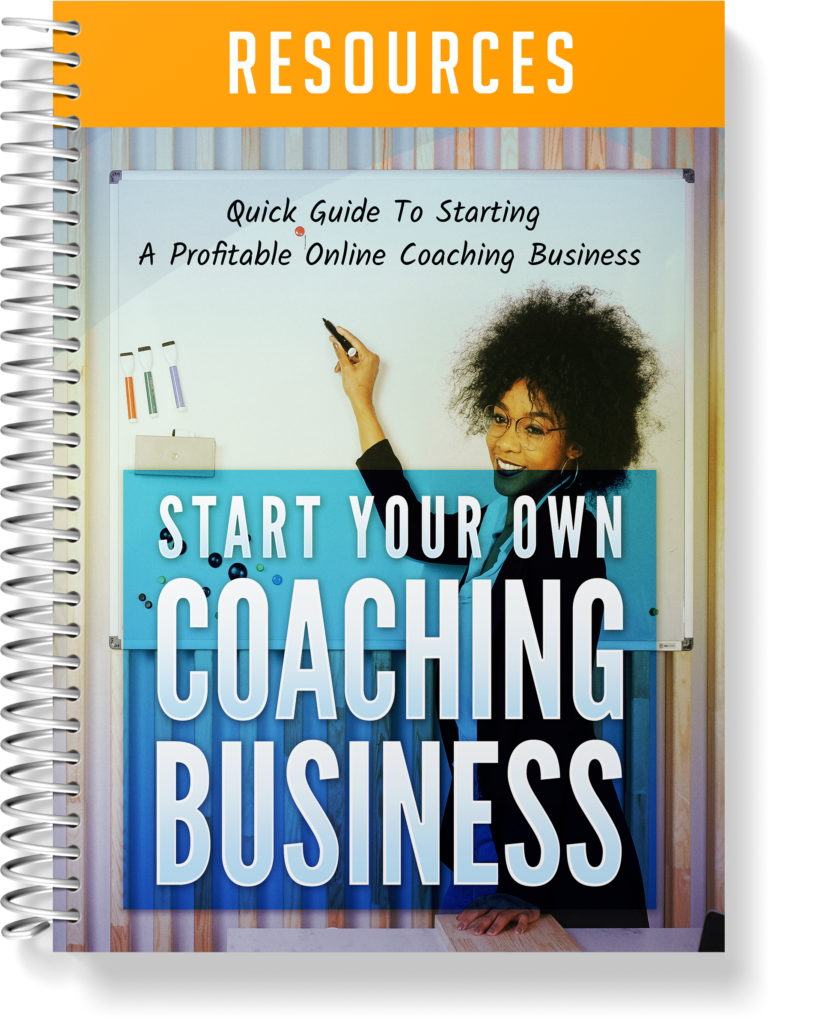 Start Your Own Coaching Business Resource Guide Image