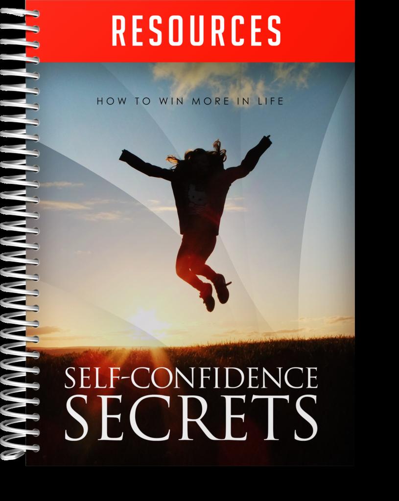Self Confidence Secrets Resource Guide Image