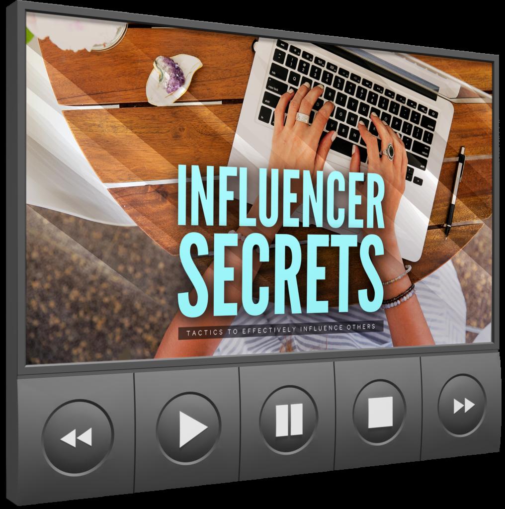 Influencer Secrets Video  Image