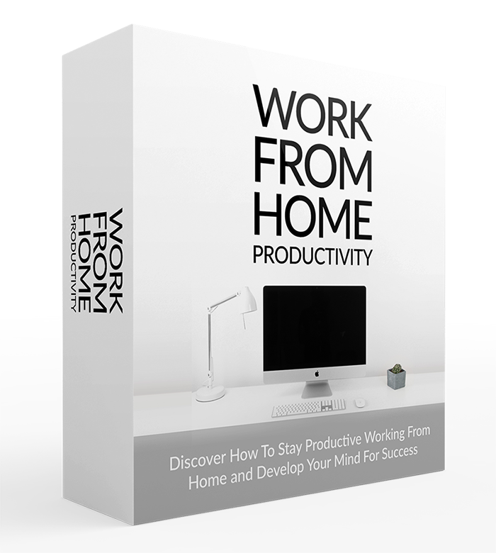 Work From Home Productivity box Image