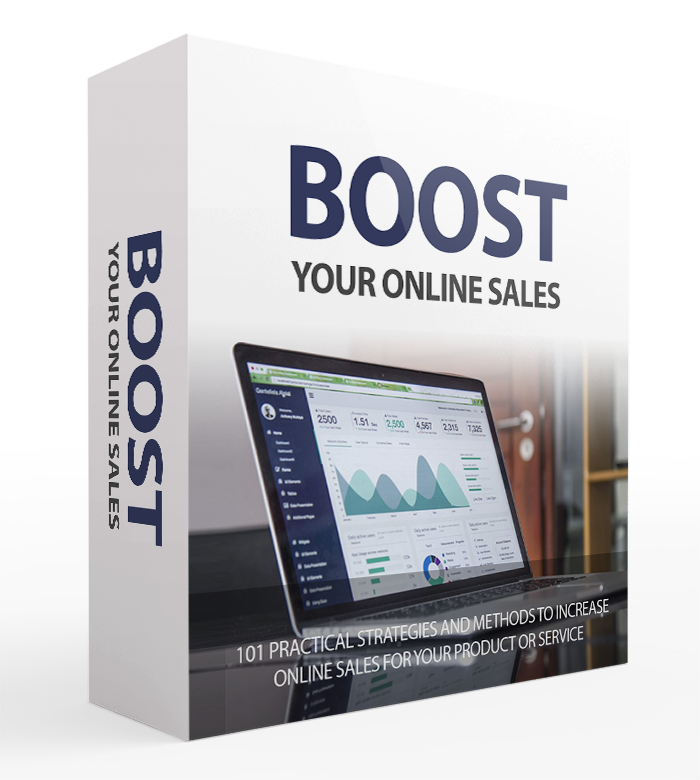 Boost Your Online Sales - Box Image