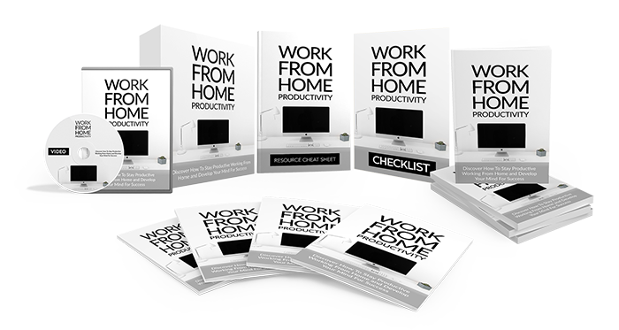 Work From Home Productivity Bundle Image