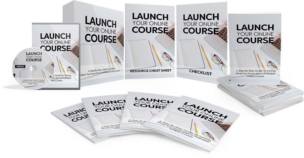 Launch your online course - bundle image