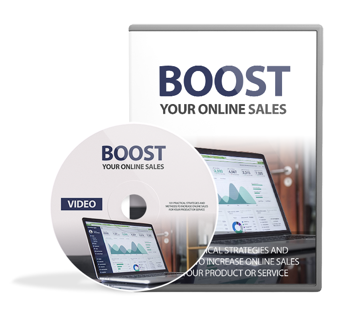 Boost Your Online Sales - dvd Image