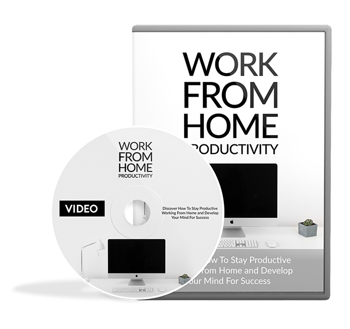 Work From Home Productivity video Image