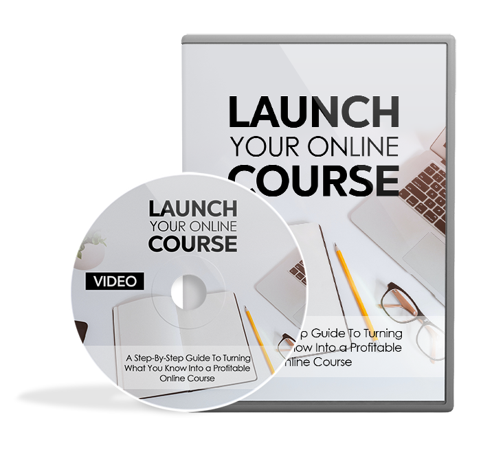 Launch your online course - video dvdmage