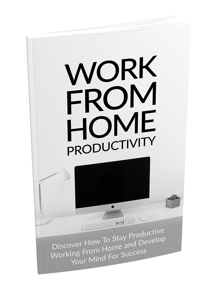 Work From Home Productivity ebook Image