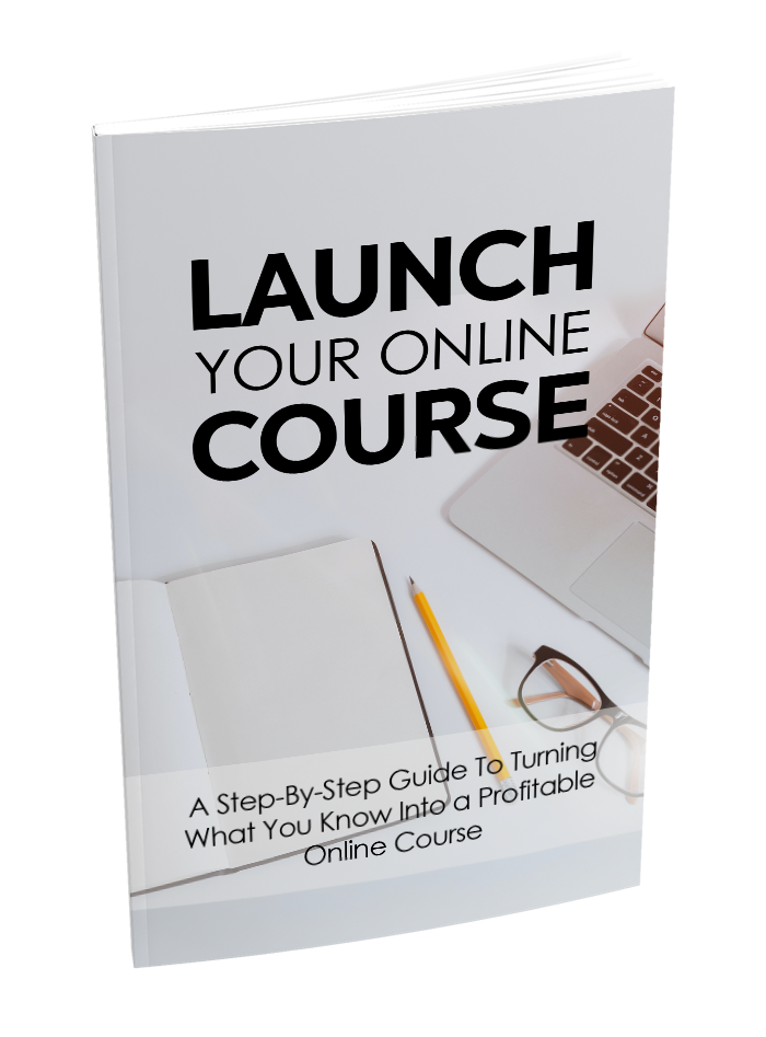 Launch your online course - ebook image