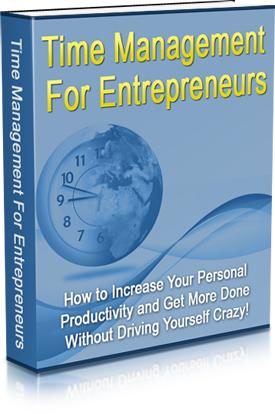 Time management for entrepreneurs - ebook