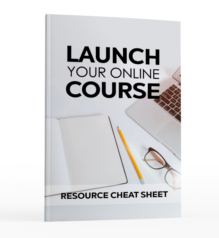 Launch your online course - resource guide image