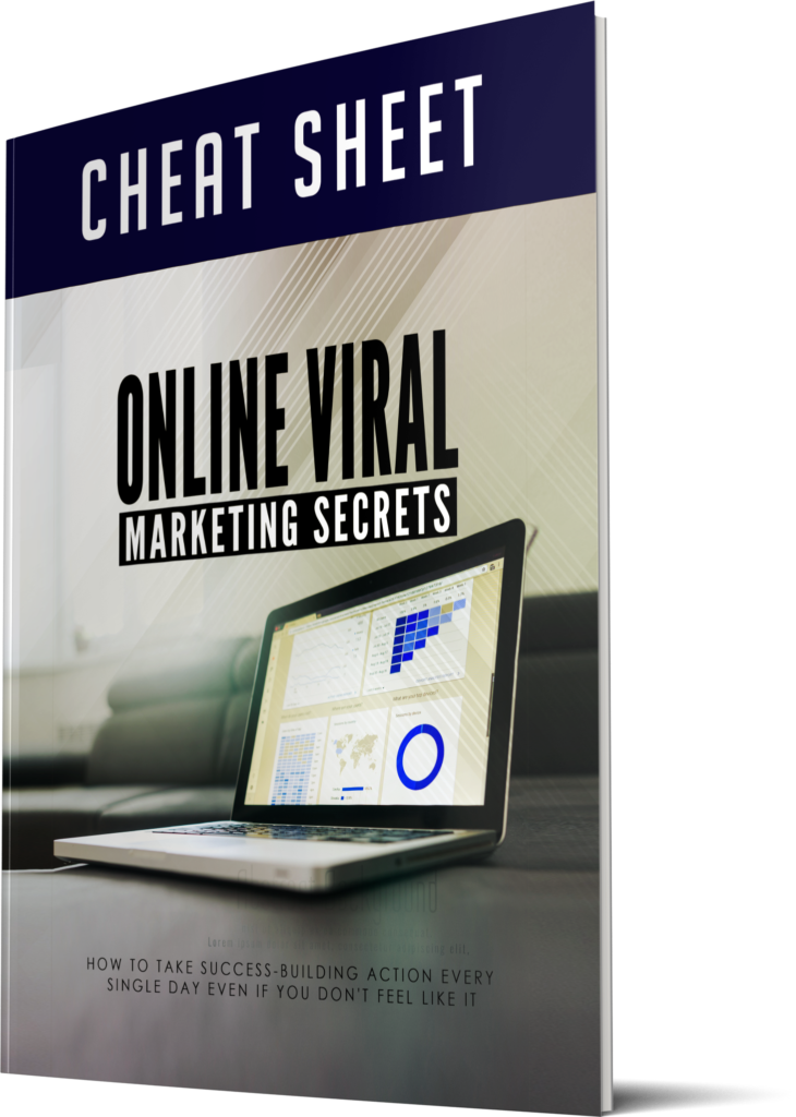 Online Viral Marketing Secrets Cheatsheet