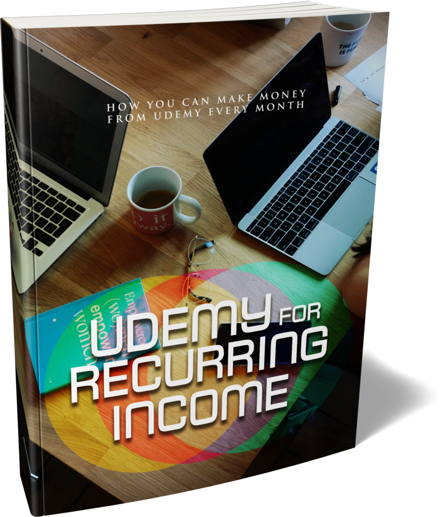 Udemy For Recurring Income - Ebook