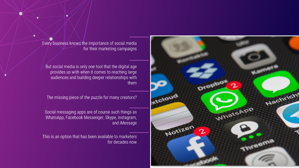Social Messaging Apps for Marketers Video Introduction
