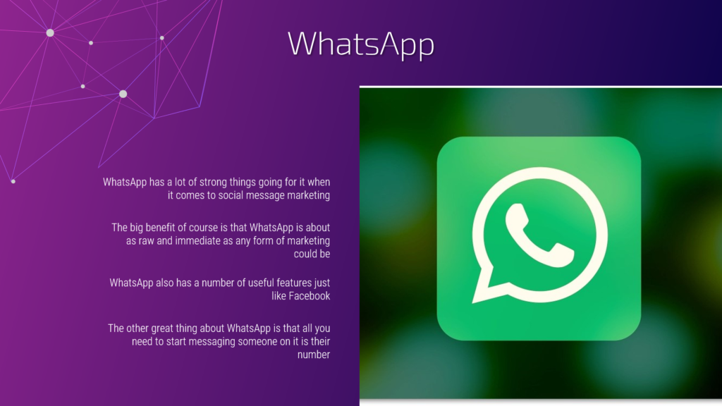 Social Messaging Apps for Marketers Video 2