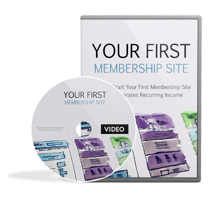Your First Membership Site - Video