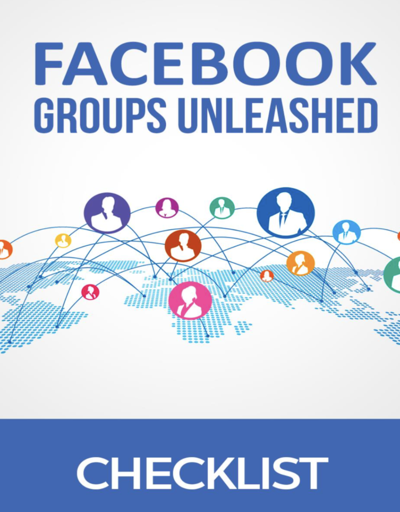 Facebook Groups Unleashed checklist